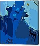 Battleship North Carolina Canvas Print