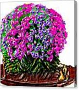 Beautiful Arrangement Of Flowers Canvas Print