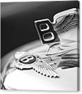 Bentley Hood Ornament Canvas Print