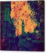 Big Ben Street Canvas Print