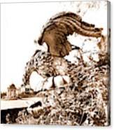 Campania Caserta Carditello Plazzo Reale Canvas Print