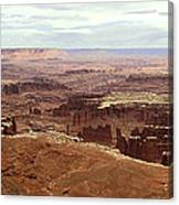 Canyonlands National Park In Utah Canvas Print