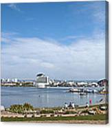 Cardiff Bay Panorama Canvas Print