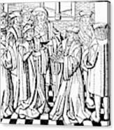 Charles Martel (c688-741) Canvas Print
