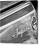 Chevrolet Impala Emblem Canvas Print