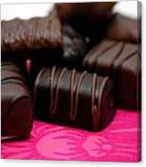 Chocolate Candies Canvas Print