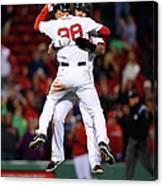 Cincinnati Reds V Boston Red Sox 5 Canvas Print