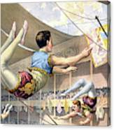Circus Poster, C1890 Canvas Print
