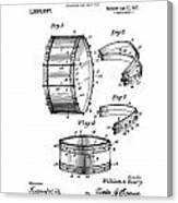 Collapsible Drum Patent 008 Canvas Print