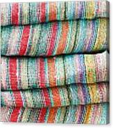 Colorful Cloth Canvas Print
