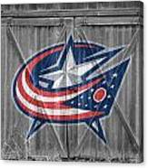 Columbus Blue Jackets Canvas Print