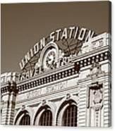 Denver - Union Station Canvas Print