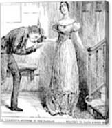 Dickens Martin Chuzzlewit Canvas Print