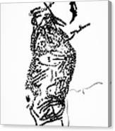 Dinka Corset - Manlual - South Sudan Canvas Print