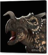 Dinosaur Einiosaurus Canvas Print