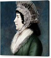 Dolley Madison (1768-1849) Canvas Print
