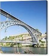 Dom Luis Bridge Porto Portugal Canvas Print