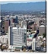 Downtown San Jose California Canvas Print