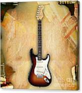 Fender Stratocaster Collection Canvas Print
