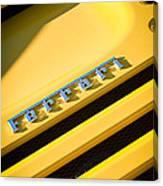 Ferrari F355 Emblem Canvas Print