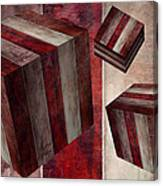 5 Fire Cubed Canvas Print