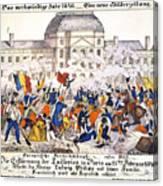 France Revolution, 1848 Canvas Print
