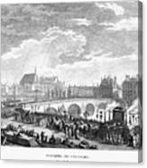 French Revolution, 1791 Canvas Print