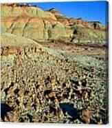Highway 191 Dunes Canvas Print