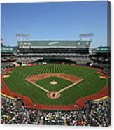 Houston Astros Vs. Oakland Athletics Canvas Print
