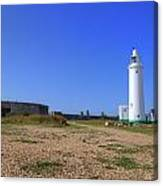 Hurst Point Lighthouse Canvas Print