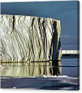 Iceberg In The Ross Sea Antarctica Canvas Print