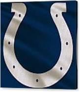 Indianapolis Colts Uniform Canvas Print