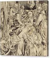 Israhel Van Meckenem German, C. 1445 - 1503 Canvas Print