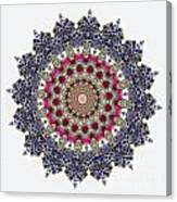 Kaleidoscope Colorful Jeweled Rhinestones Canvas Print
