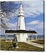 Kimberly Point Lighthouse Canvas Print