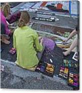 Lake Worth Street Painting Festival Canvas Print