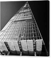 looking up at the shard building London England UK Canvas Print