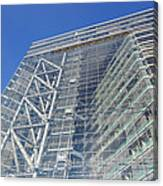 Low Angle View Of An Office Building Canvas Print