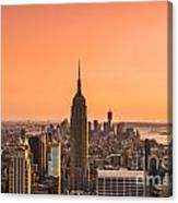 Manhattan - New York City - Usa Canvas Print