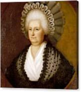 Martha Washington (1731-1802) Canvas Print