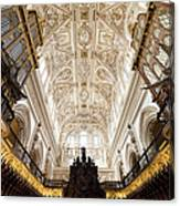Mezquita Cathedral Interior In Cordoba Canvas Print