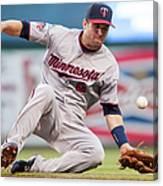 Minnesota Twins V Cleveland Indians 5 Canvas Print