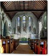 Minster Abbey Canvas Print