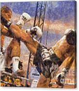 Muay Thai Arts Of Fighting Canvas Print