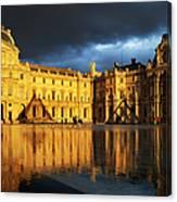 Musee Du Louvre Canvas Print