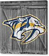 Nashville Predators Canvas Print