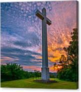 Nelsonville Cross Canvas Print