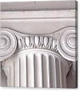 Neoclassical Ionic Architectural Details Canvas Print