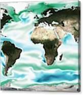 Ocean-atmosphere Co2 Exchange Canvas Print