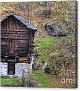 Old Rustic House Canvas Print